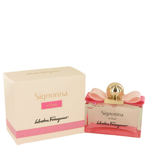 Signorina In Fiore by Salvatore Ferragamo Eau De Toilette Spray 3.4 oz for Women