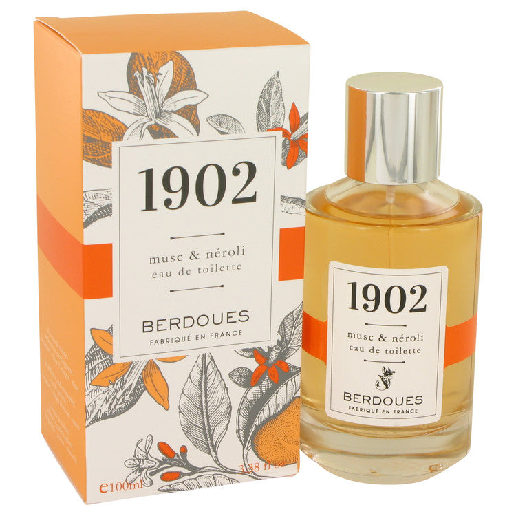 1902 Musc & Neroli by Berdoues Eau De Toilette Spray 3.38 oz for Women
