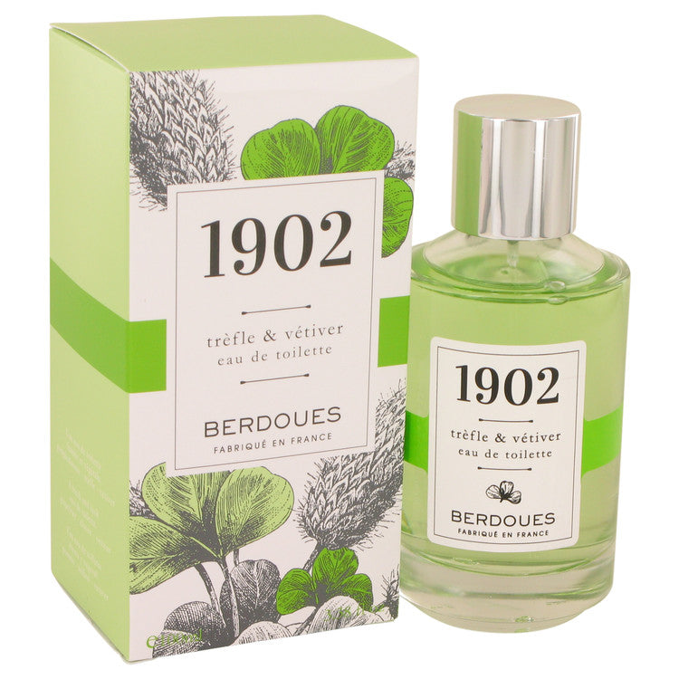 1902 Trefle & Vetiver by Berdoues Eau De Toilette Spray 3.38 oz for Women