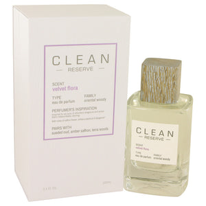 Clean Velvet Flora by Clean Eau De Parfum Spray 3.4 oz for Women