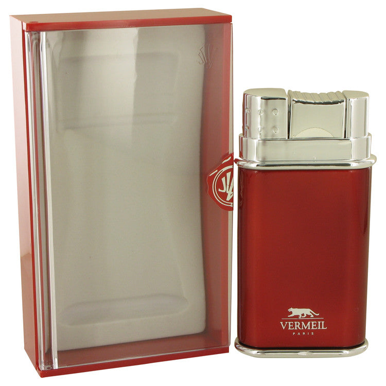 Vermeil Red by Vermeil Eau De Toilette Spray 3.4 oz for Men