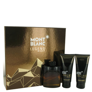 Montblanc Legend Night by Mont Blanc Gift Set -- for Men