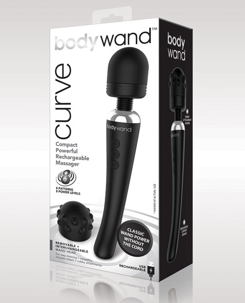 Xgen Bodywand Curve Rechargeable - Black