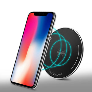 Wireless  Phone Charger Universal Ultra Slim Free Charger QI Quiky for Samsung iPhone 8X