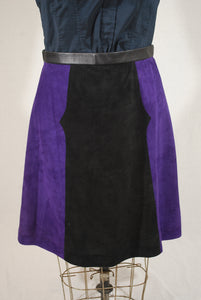 Suede Leather Skirt Size 8