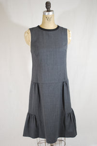 Wool gathered dress size 40