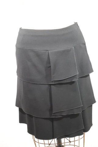 Black Tiered Skirt 8