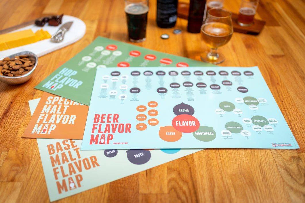 Beer Flavor Map Bundle
