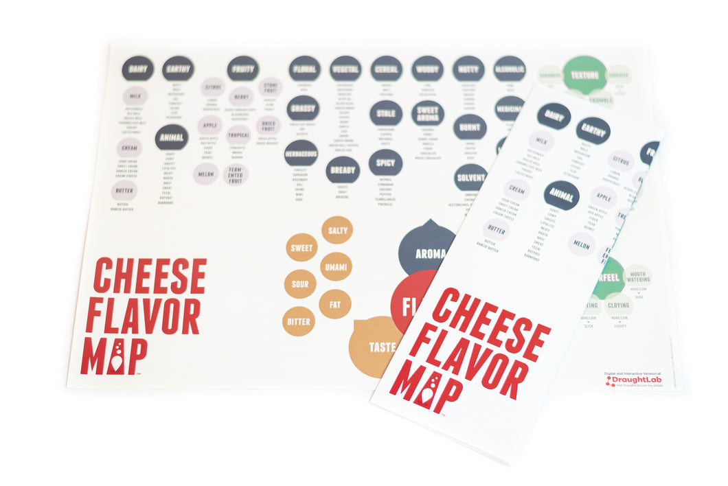 Cheese Flavor Map