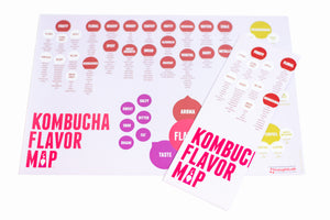Kombucha Flavor Map