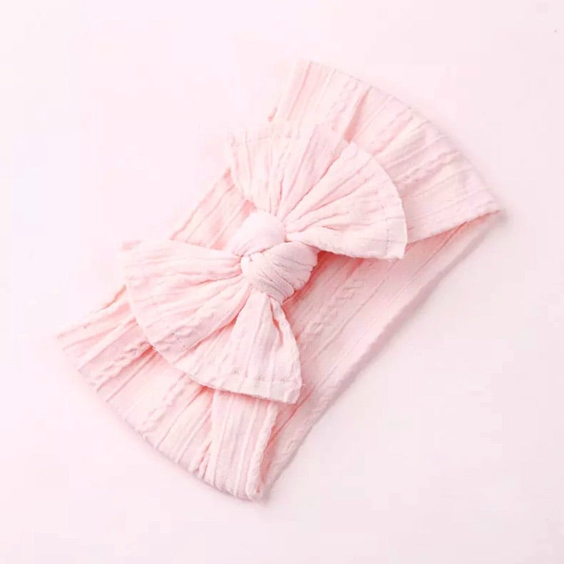 Fairy Floss Pink~ Top Knot Headband