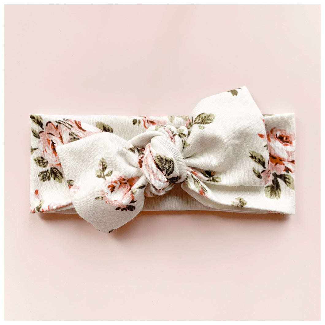 The Rose~ Bow Knot Headband