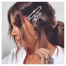 Sparkle Luxe Silver Hair Clip Set
