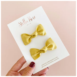 Goldie piggy tail set-Knot