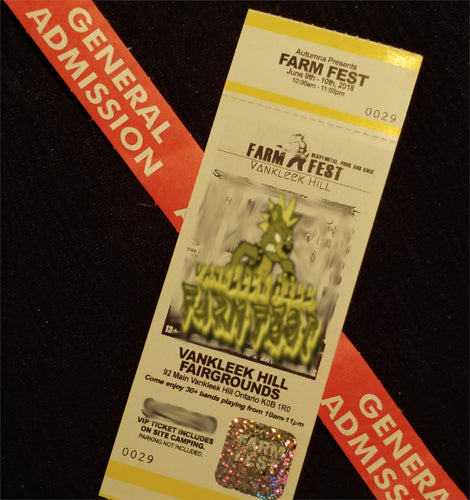 Vankleek Hill Farmfest 2019 Weekend Pass **No Camping**