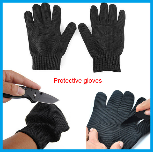 1 Pair Protective Anti-Cutting Hand Shielding Gloves