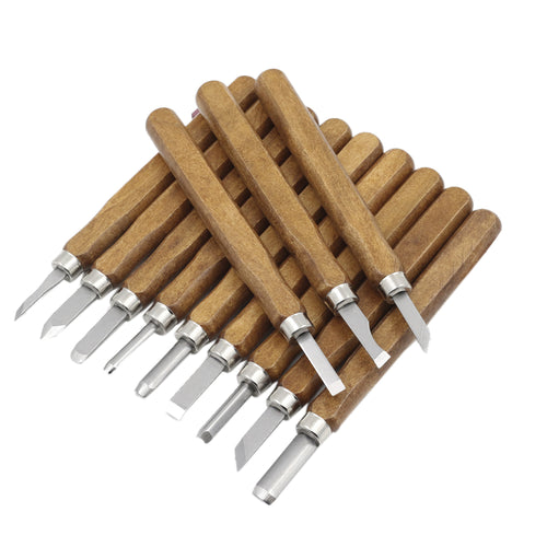 12pcs Wood Carving Tools Set