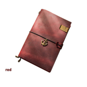 Real Leather Re-fillable Travel Journal