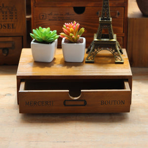 Wooden Retro Box drawer