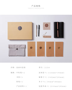 Stationery Pen and Book Gift Set
