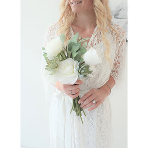 Bridal Lace Robes