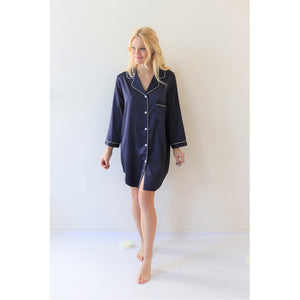 Sleep Shirt | Navy Blue