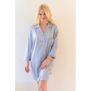 Sleep Shirt | Dusty Blue