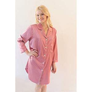 Sleep Shirt | Dusty Rose