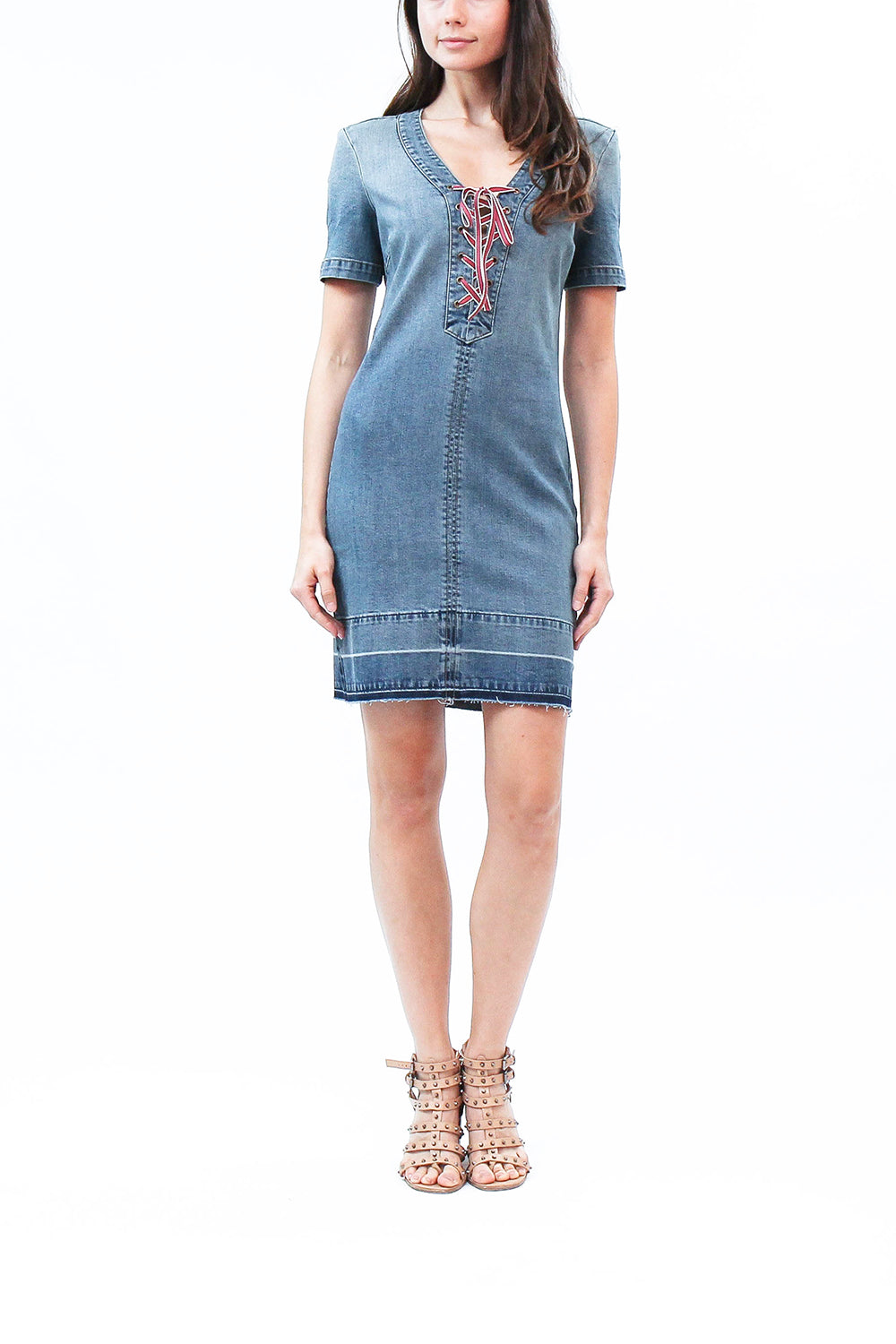 e7b0a4a7b8e Katie Denim Shift Dress. Katie Dres