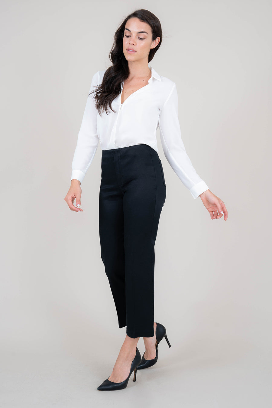 Rochelle Kick Flare Trouser - level99jeans