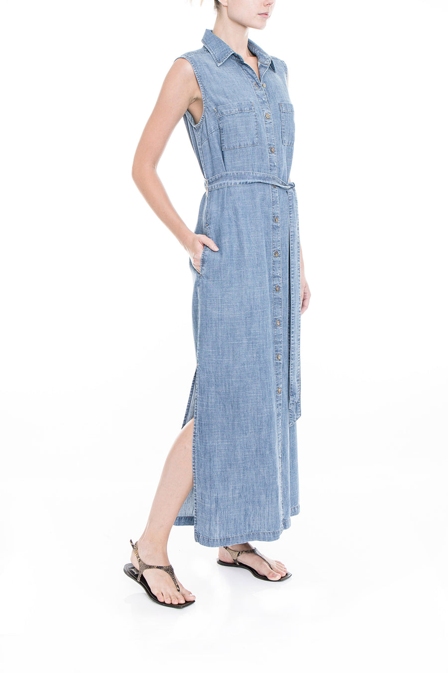 Jasmine Denim Dress - level99jeans