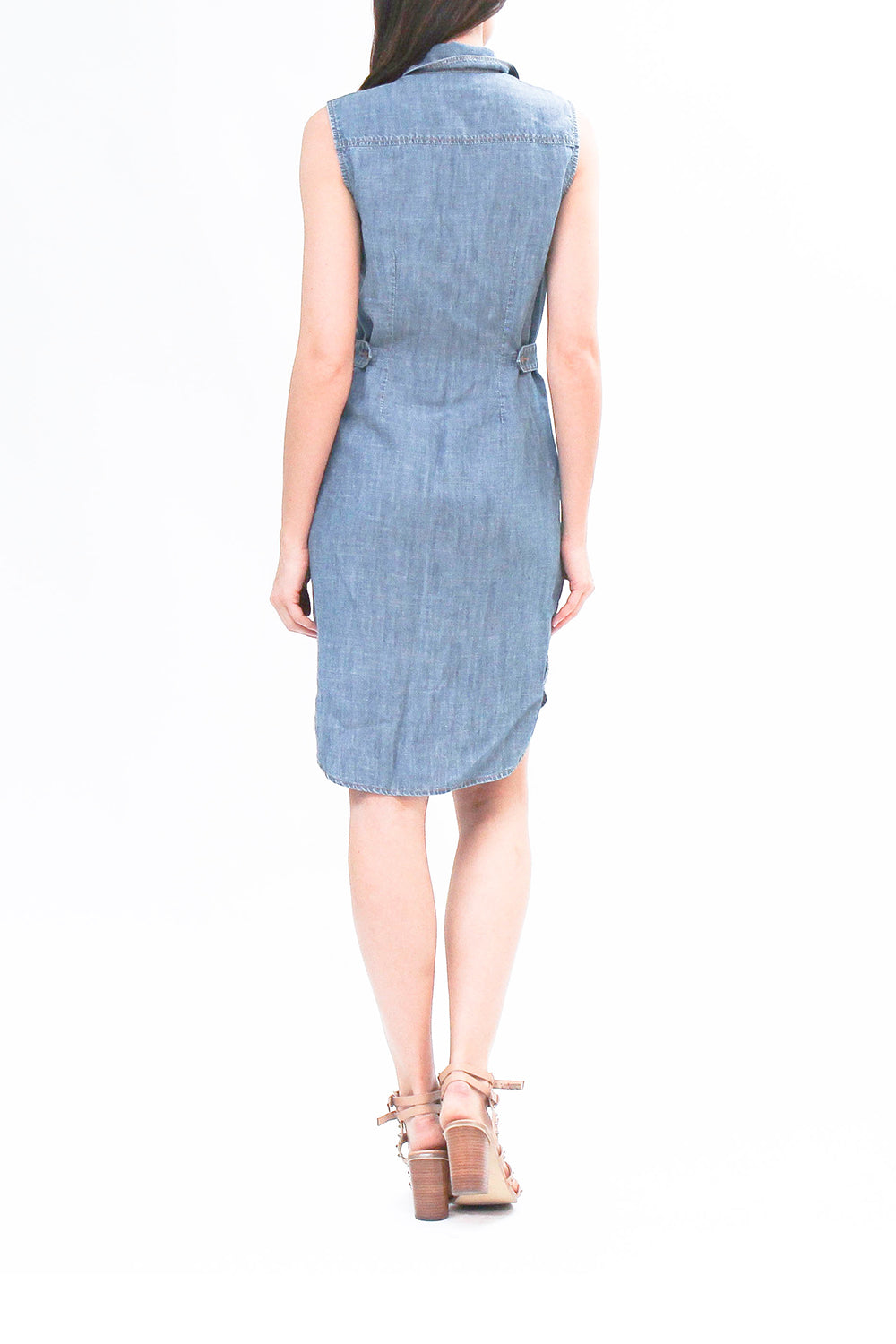 Heather Sleeveless Dress Jetty