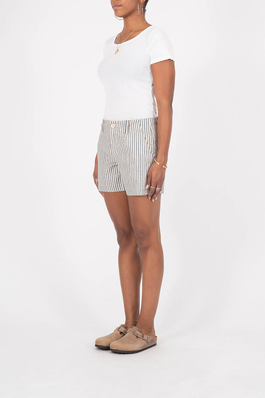 Andie Nautical Stripe Short