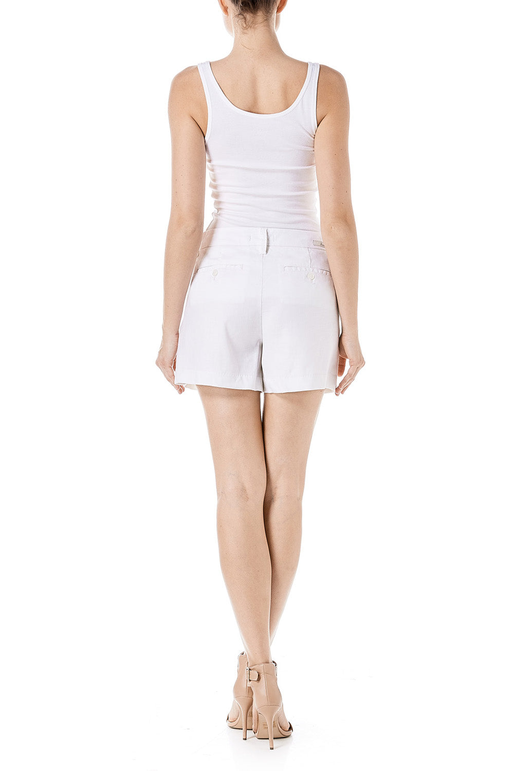 Optic White Cassandra Short