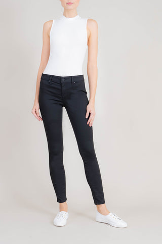Janie High Rise Raw Hem Skinny