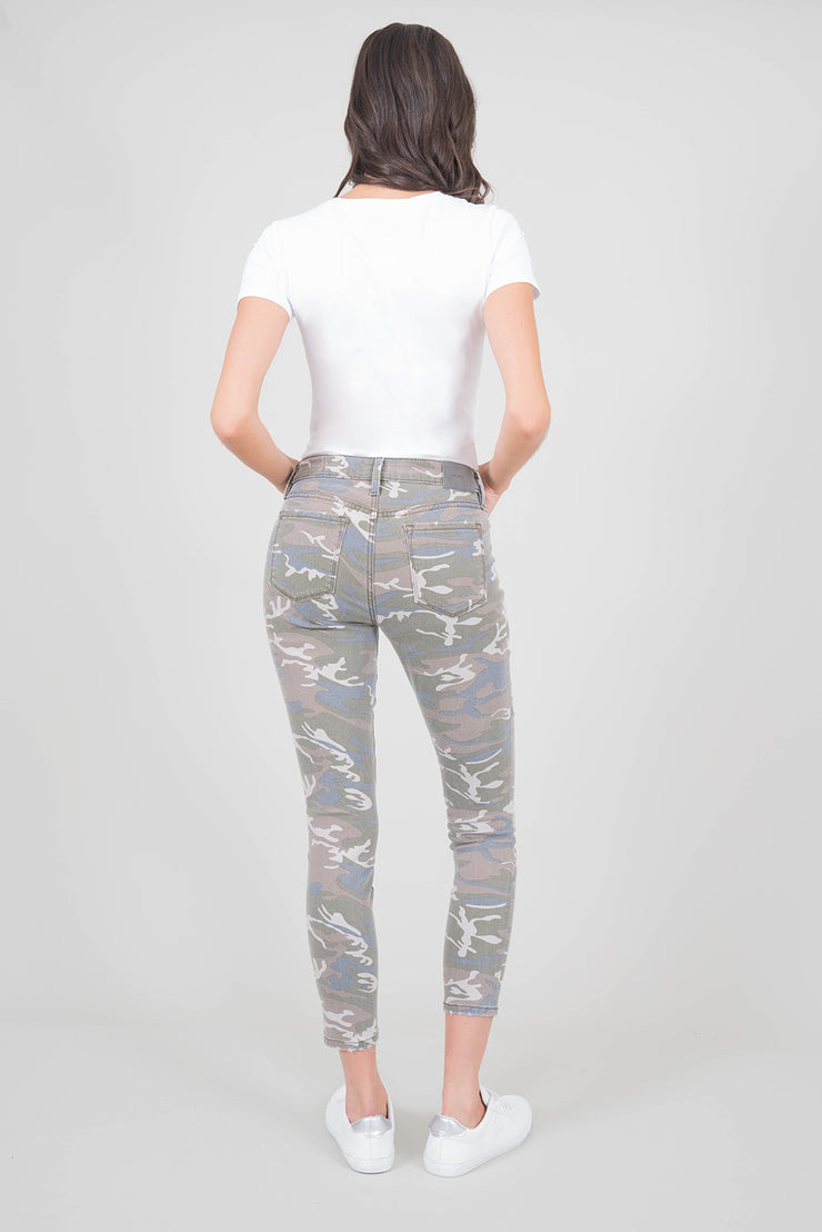 Madison Midrise Camo Skinny