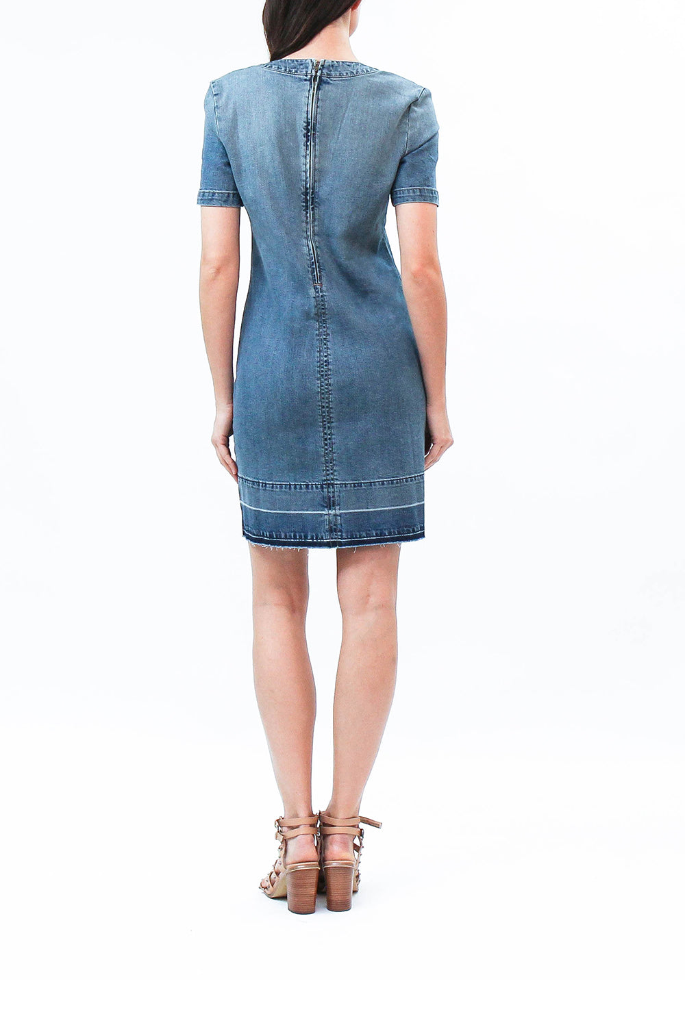 a662401f0e5 Katie Dres · Denim Dress