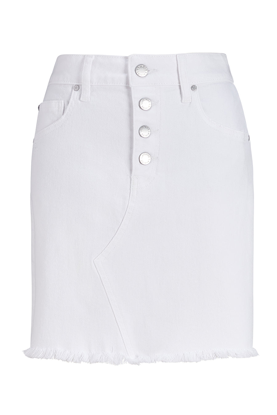 Lana Exposed Button Skirt