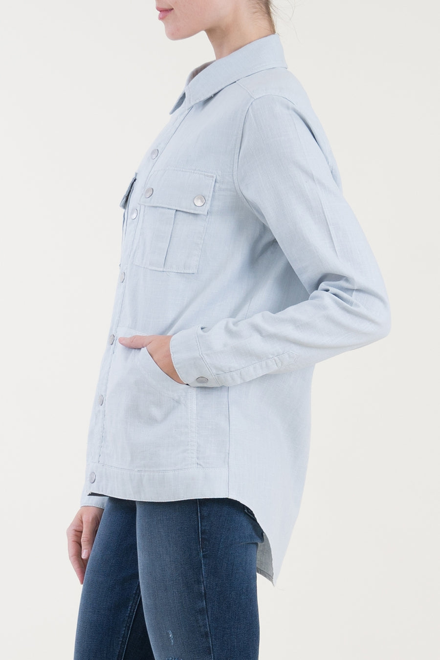 Gina Shirt Jacket - level99jeans