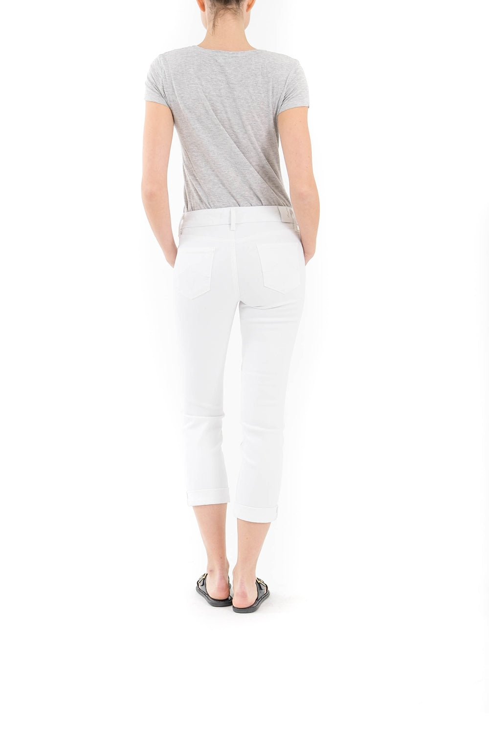 Lily Mid-Rise Rolled Crop