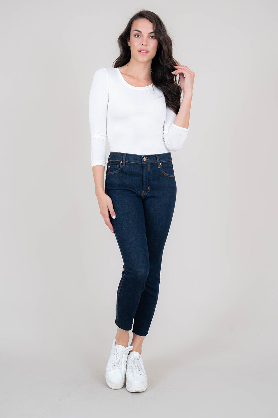 Janie High Rise Skinny - level99jeans
