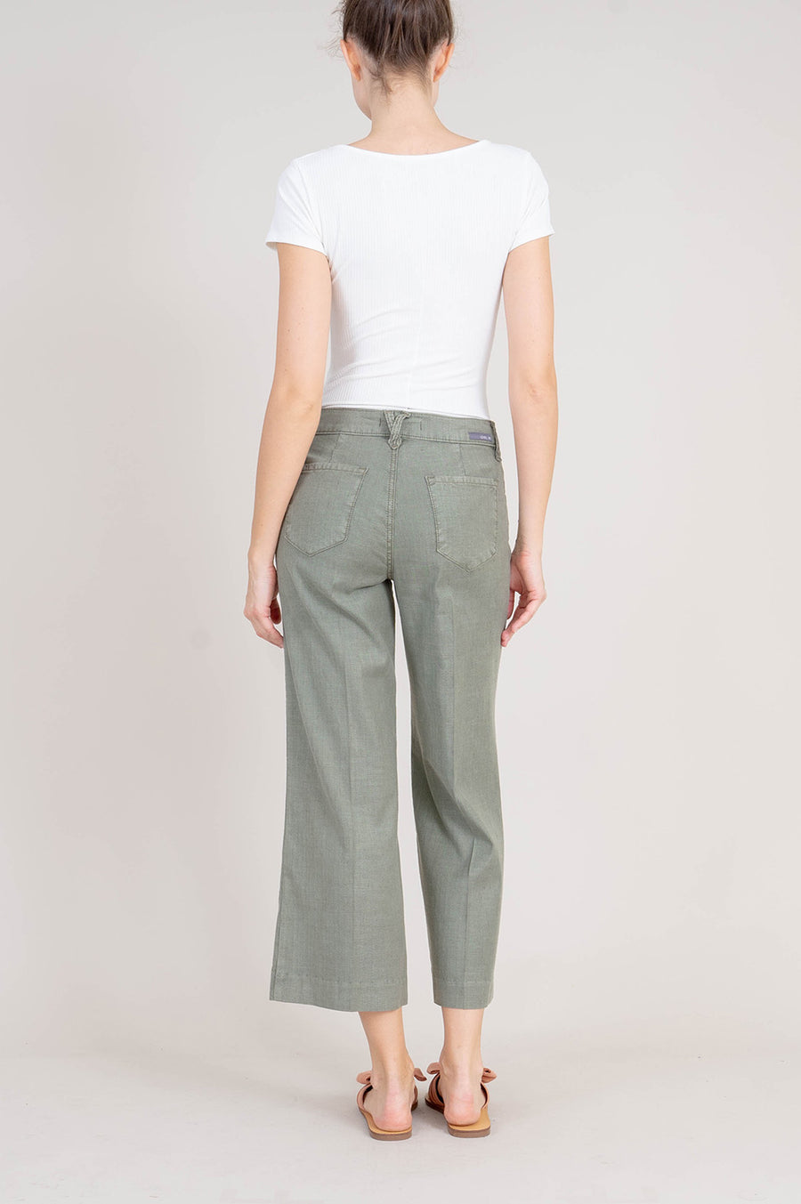 Annie Wide-leg Crop Pant - level99jeans
