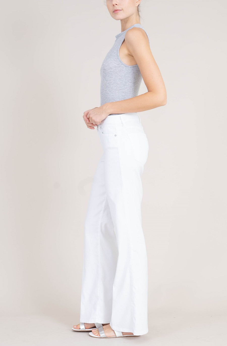 Janelle Midrise Wide Leg - level99jeans