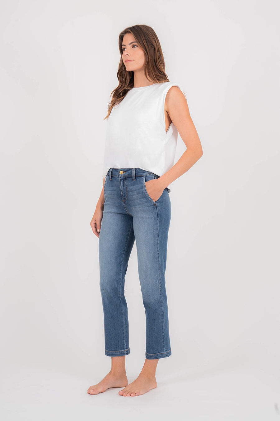 Gillian Trouser Denim