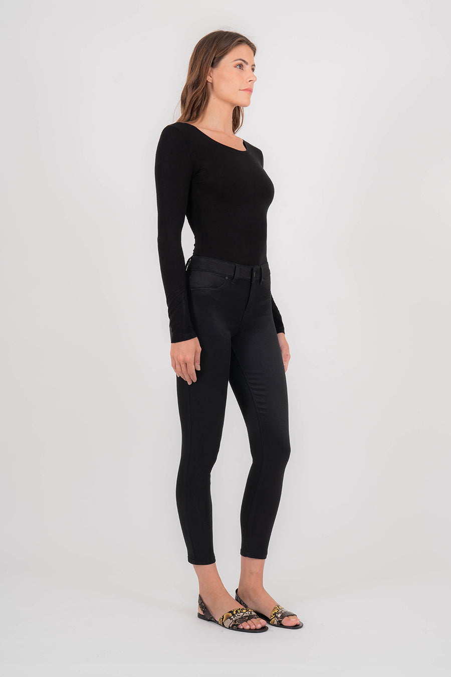 Madison Midrise Sateen Skinny