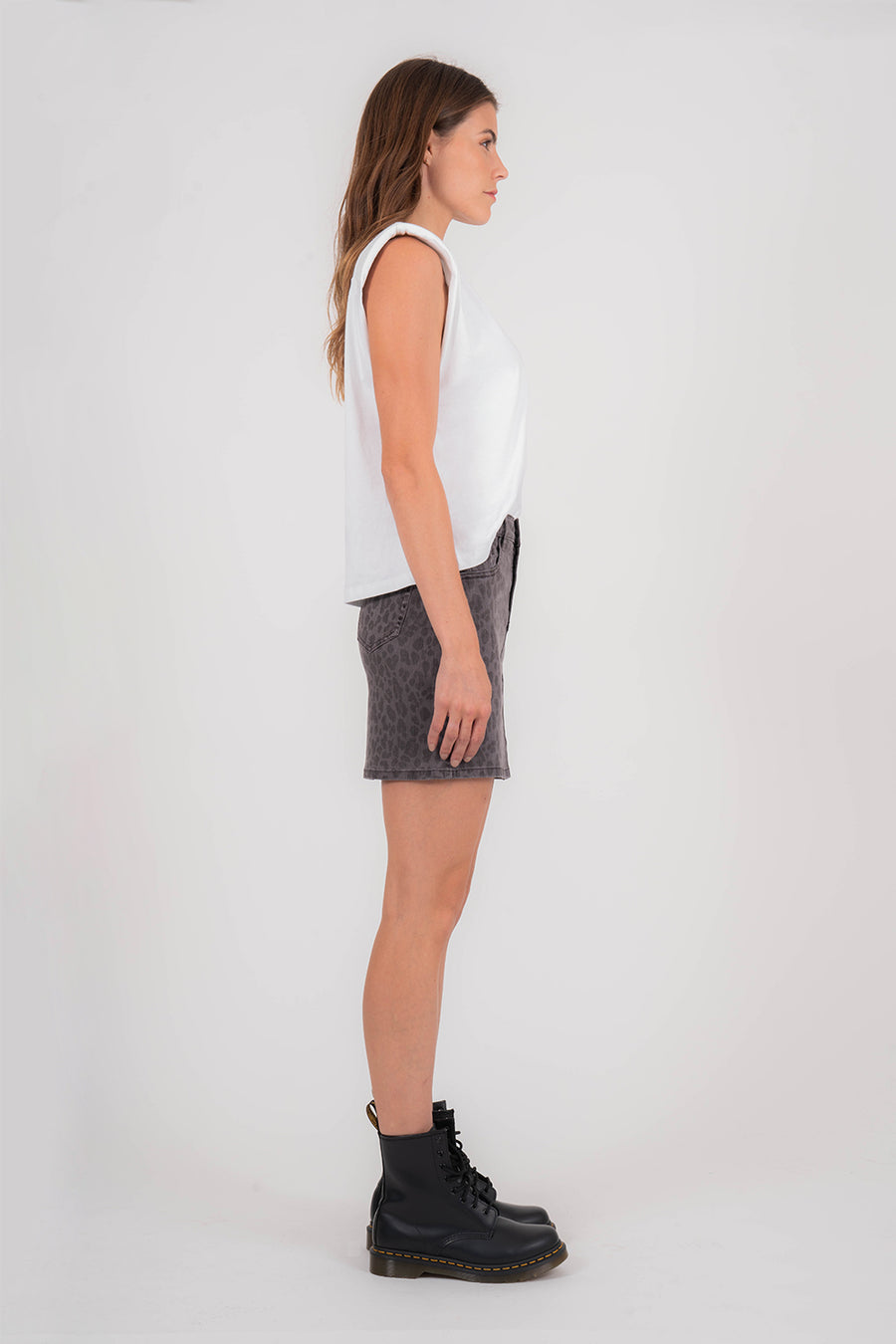 Darcy - Wild Thing animal print skirt