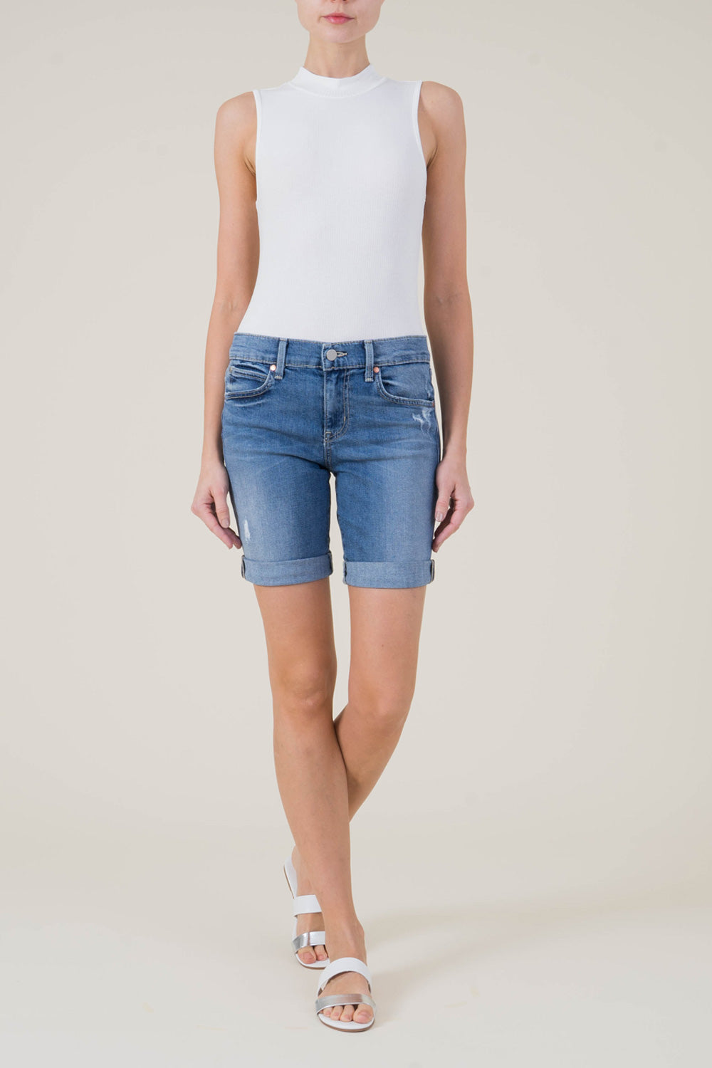 Jaimee Roll-Up Shorts