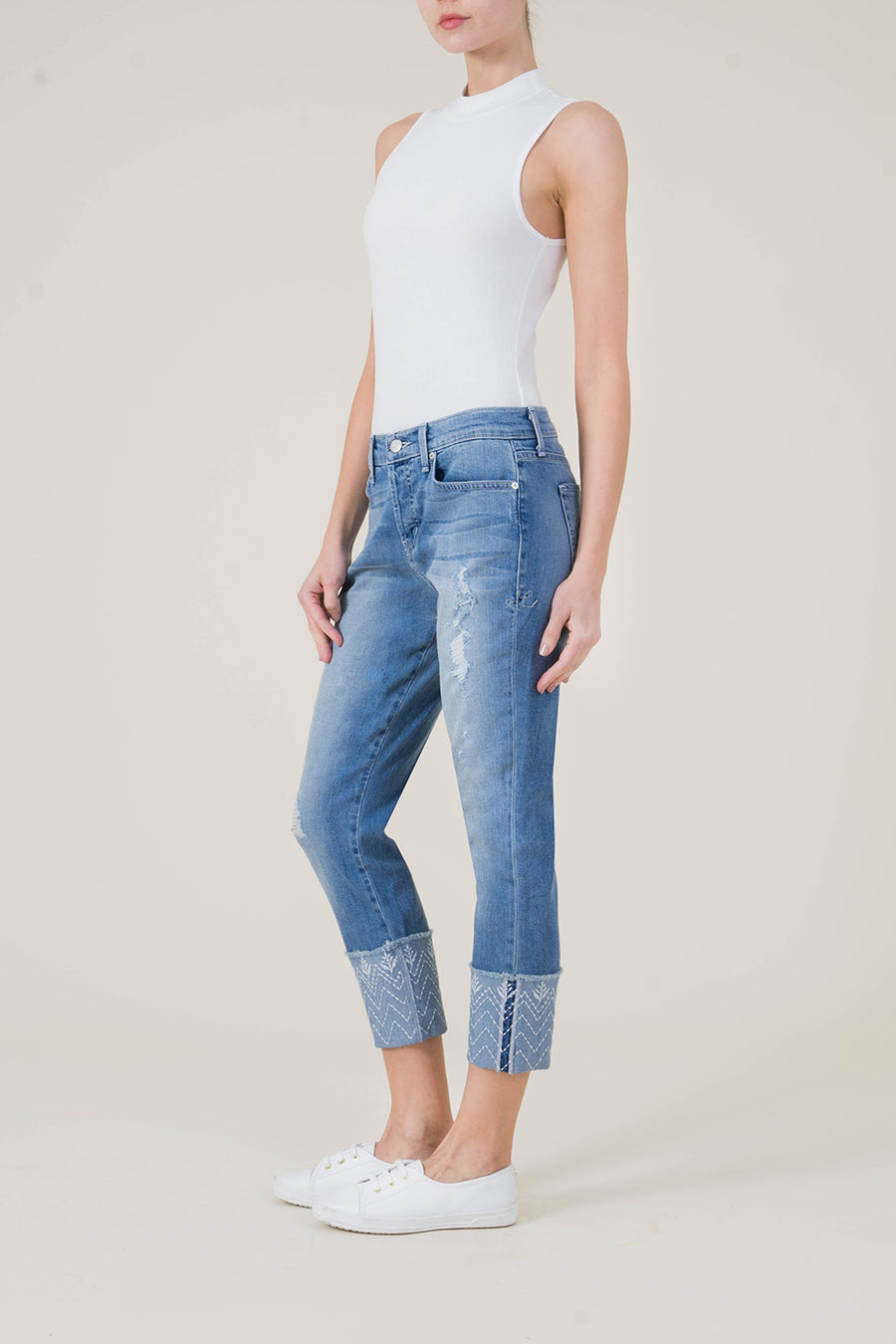 Morgan Relaxed Straight - level99jeans