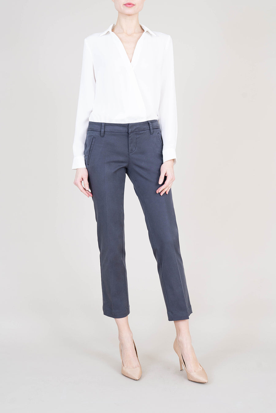 Francis Straight Ankle Trouser - level99jeans