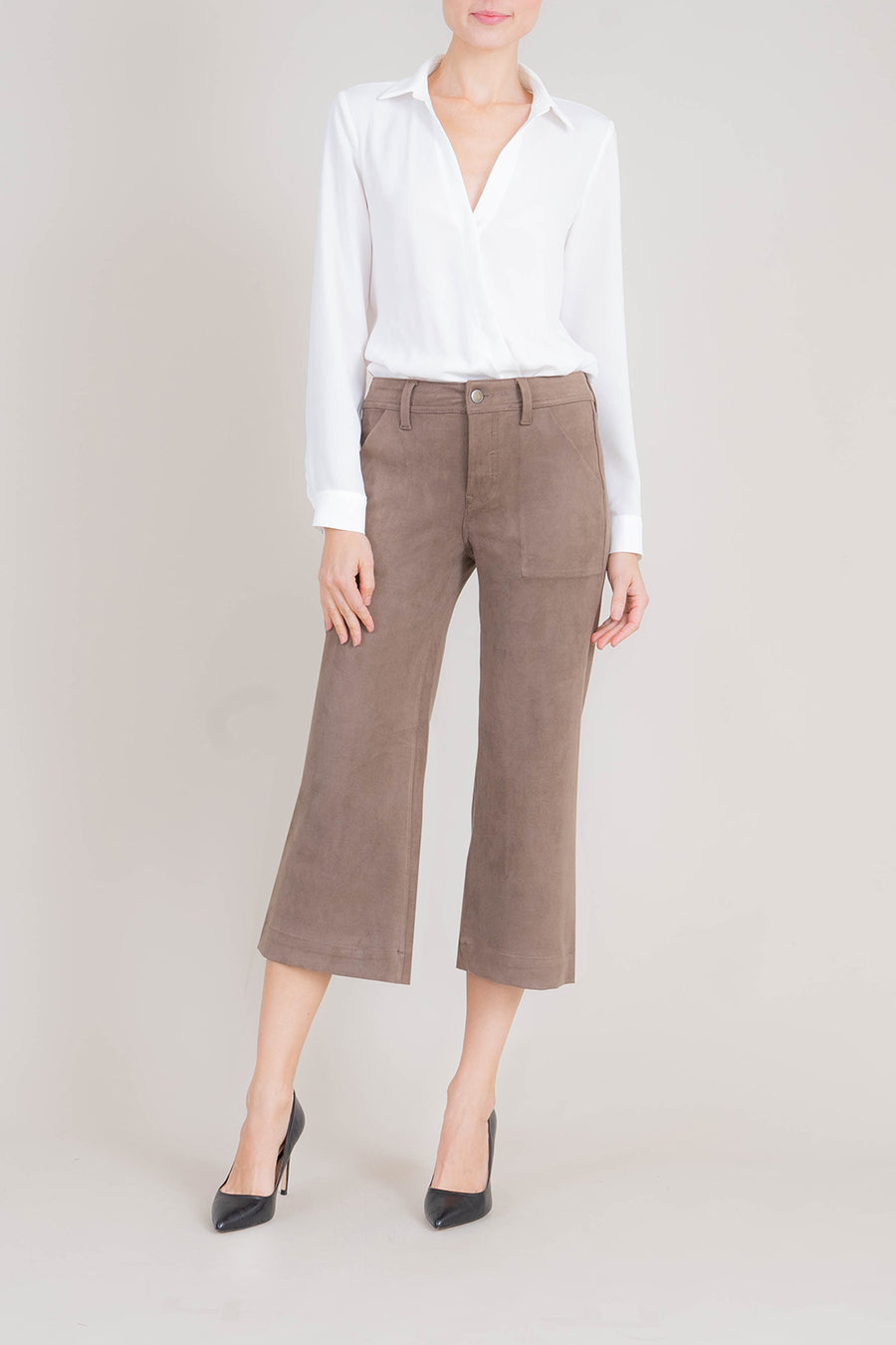 Sally Wide Leg Crop - level99jeans